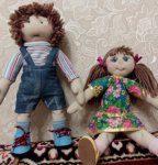 Виды текстильных кукол. Примитивы