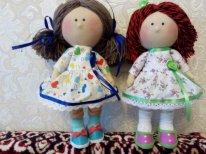 <br /> Мои первые текстильные куклы