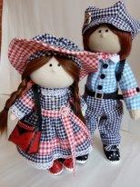Текстильные куклы мальчики. Фото. Просто текстильные куклы