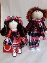 Текстильные куклы мальчики. Фото.Дружные ркбята