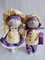 Текстильные куклы мальчики. Фото. Куклы - поворята