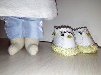 Текстильная кукла, набитая синтепоном