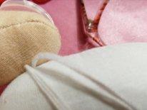 Как пришить ноги текстильной кукле. Нитки
