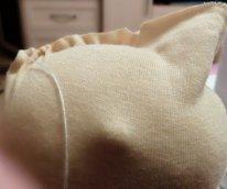 """Как пришить голову текстильной кукле. Обрезаем """"ушки"""""""