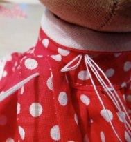 Как пришить руки текстильной кукле. Пришиваем руку