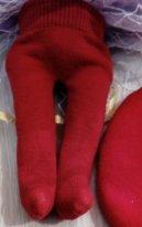 Как сшить колготки для текстильной куклы. Надеваем изделие