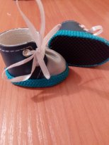 Из чего сшить обувь текстильной кукле. Ботиночки