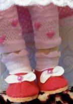 Из чего сшить обувь текстильной кукле. Туфельки из фетра