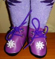Из чего сшить обувь текстильной кукле. Ботиночки из искусственной кожи