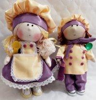 Куклы поварята своими руками.. Фото