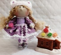 Простые текстильные куклы