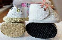 Из чего сшить обувь текстильной кукле. Рант микропористый