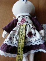 Как сшить юбку из фатина для кукол.  Снимаем мерки