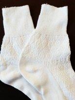 Штанишки для текстильной куклы. Трикотажные носки