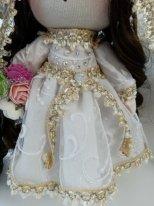 Куклы жених и невеста. Фото. Платье невесты