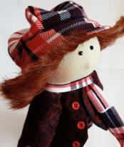Шапочки для текстильных кукол. Фото