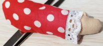 Как сшить рукава для платья текстильной куклы