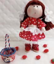 Кукла из ткани своими руками
