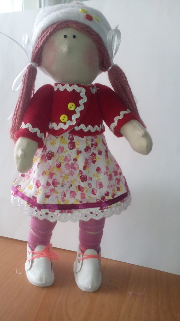 Шарфик для текстильной куклы