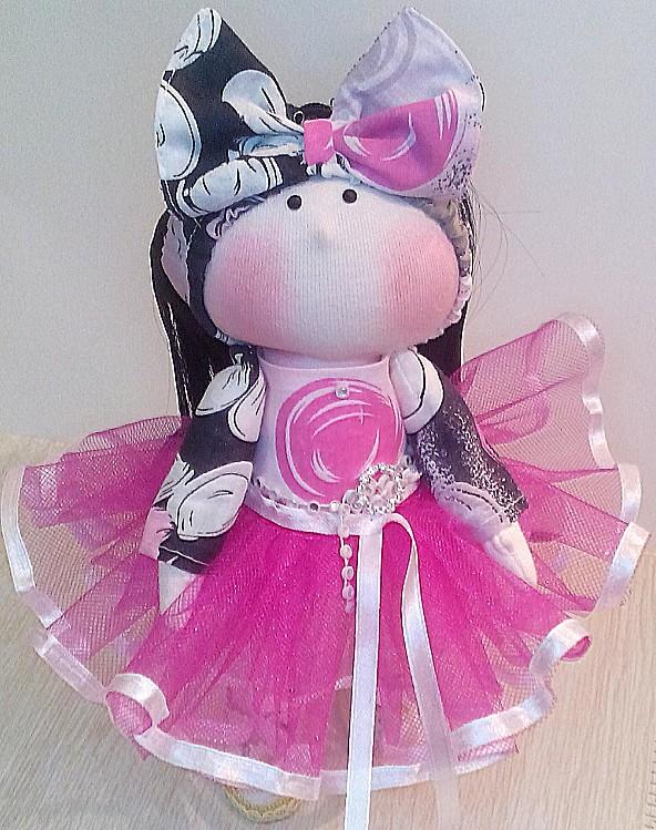 Кофточка для текстильной куклы