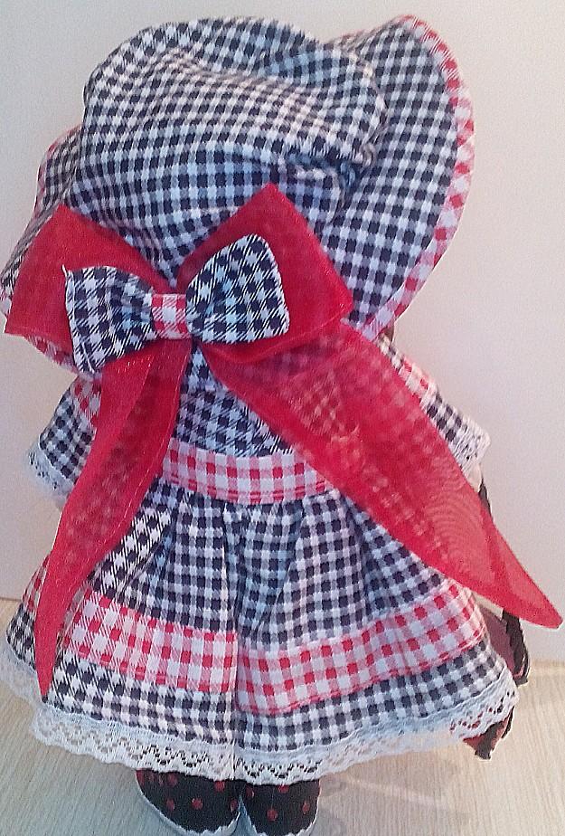 Текстильные куклы-пары