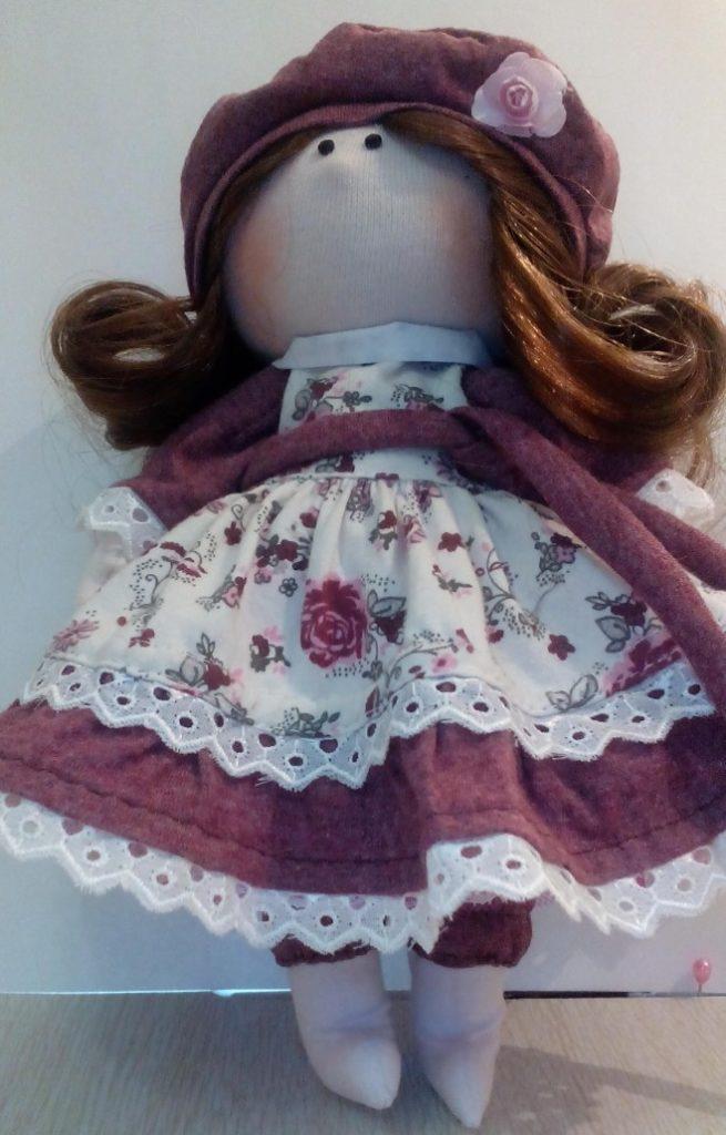 Носочки для текстильной куклы