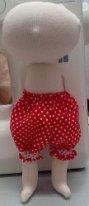 Панталоны для текстильной куклы