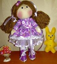Игрушка для текстильной куклы