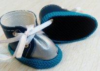 Туфельки для текстильной куклы