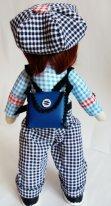 Рюкзак для текстильной куклы